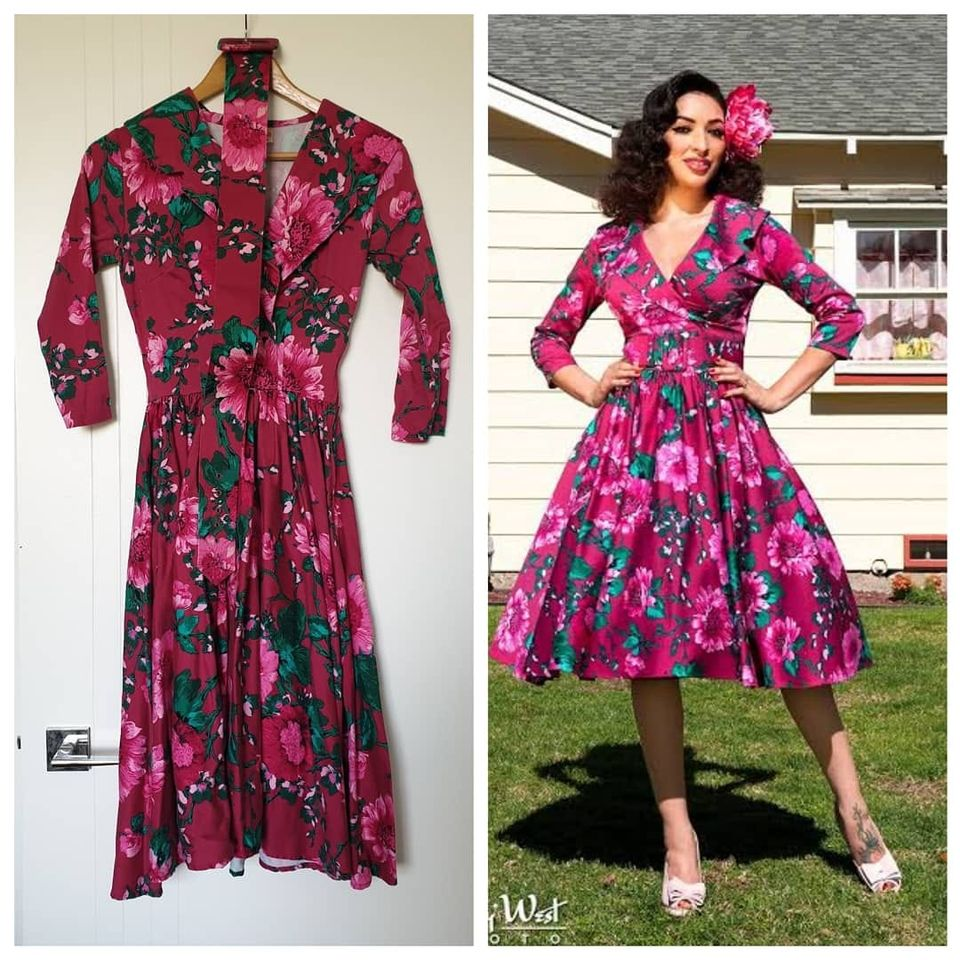 PRE-LOVED Pinup Couture Birdie Dress in Baton Rouge (XS ONLY)
