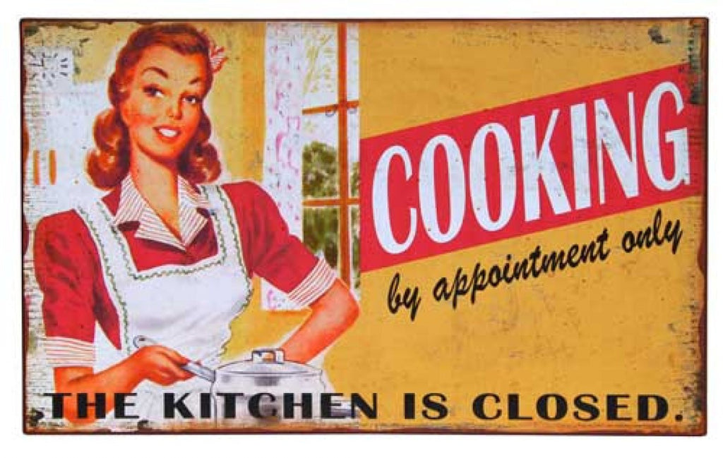 Kitchen Closed Sign