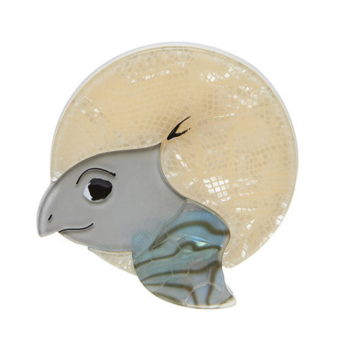 Swimming Solo Brooch