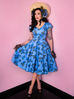 Vanity Fair Dress in Vintage Roses (XS and XL ONLY) - Natasha Marie Clothing