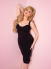 Bombshell Wiggle Dress in Black (4XL ONLY)