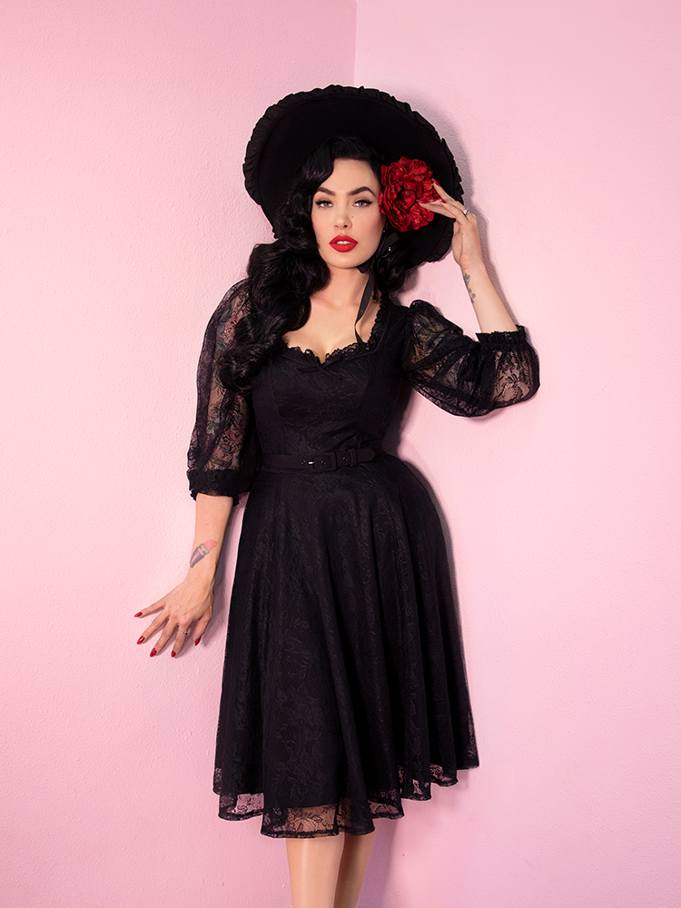 Decadence Swing Dress in Black (XS, M and 4XL ONLY)