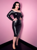 Domination Dress in Faux Stretch Leather - Natasha Marie Clothing