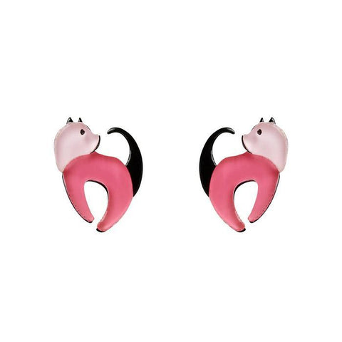 Cat Walk Stud Earrings