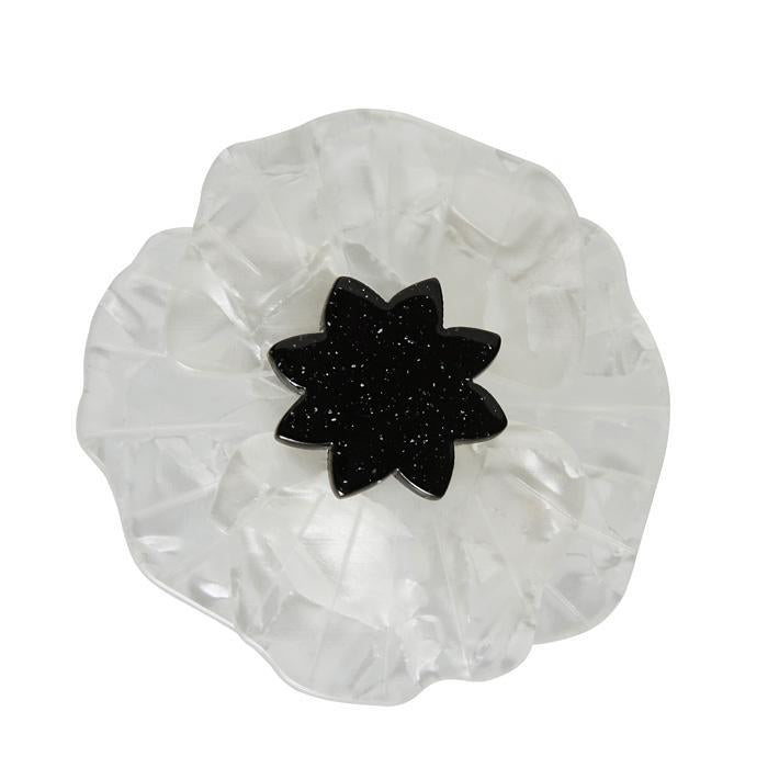 Poppy Field Brooch White - Natasha Marie Clothing