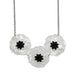Poppy Field Necklace White - Natasha Marie Clothing