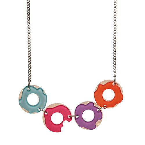 Sugar Bagel Bunch Necklace