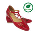 Charlie Stone Firenze Shoes - Red Patent