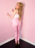 Cigarette Pants in Pink Gingham - Natasha Marie Clothing