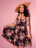 PRE ORDER Ingenue Dress in Black Vintage Floral (XS-XL IN STOCK NOW)