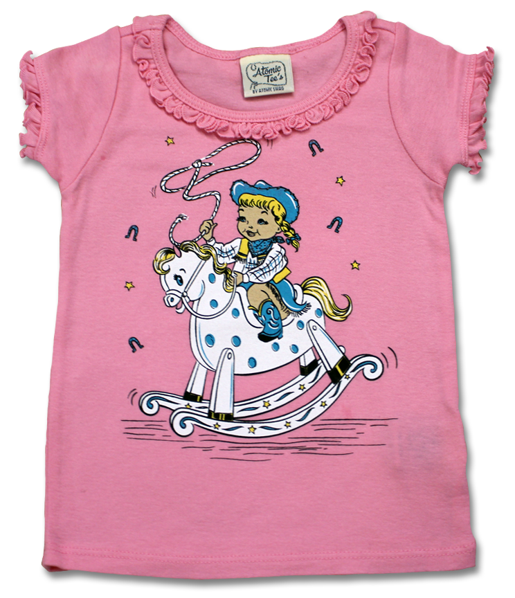 Little Cowgirl Infant Tee (6 months and 12 months)