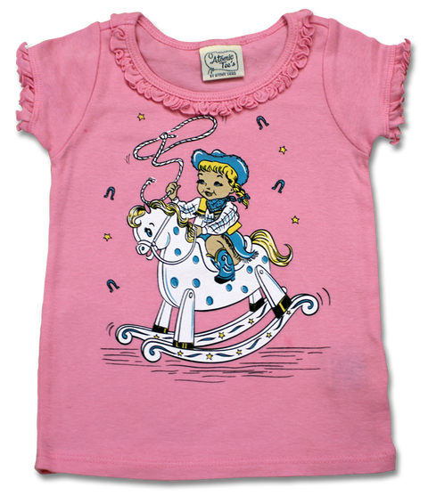 Little Cowgirl Infant Tee