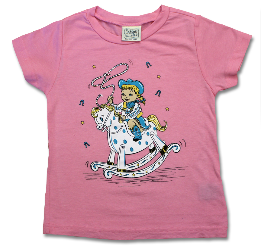 Little Cowgirl Toddler Tee