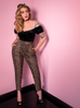 PRE ORDER Powder Puff Top in Black Stretch Velvet - Natasha Marie Clothing
