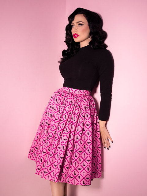 PRE ORDER Mean Girls Club Print Vixen Swing Skirt - Mean Girls Club x Vixen