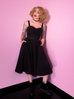 PRE ORDER Miss Kitty Maneater Swing Dress in Black (S and M ONLY)