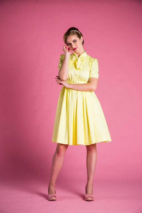 PRE ORDER Maria Dress in Yellow