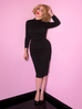 Miss Kitty Bad Girl Wiggle Dress in Black (XL and 3XL ONLY)