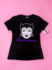 Miss Kitty Glamourpuss T-Shirt (L ONLY)