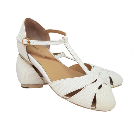 Charlie Stone Sardinia Shoes - White