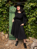 Salem Dress in Black (XS ONLY)