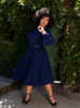 Salem Dress in Navy