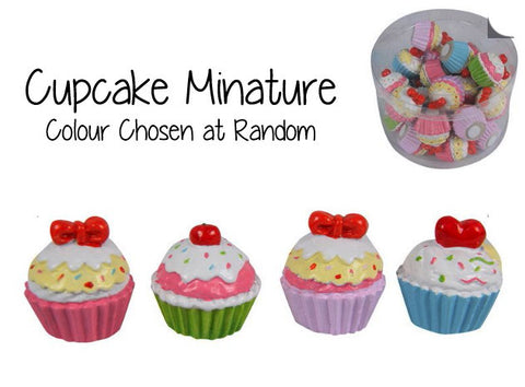Cupcake Minature - Colour Chosen at Random
