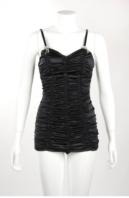 Marilyn Swimsuit in Black (XS & S in stock) Phone order only!