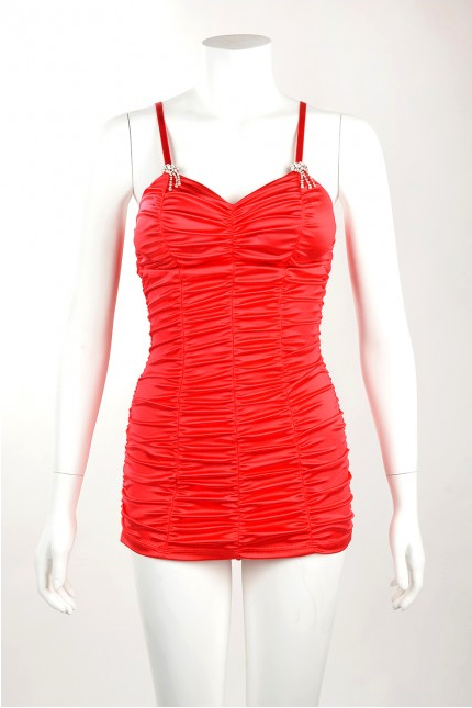 Marilyn Swimsuit in Red (In stock) Phone order only!