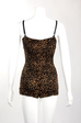 Marilyn Swimsuit in Leopard (S ONLY)