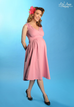 Preggers Scrumptious Dress Mauve Pink (XL ONLY) - Natasha Marie Clothing