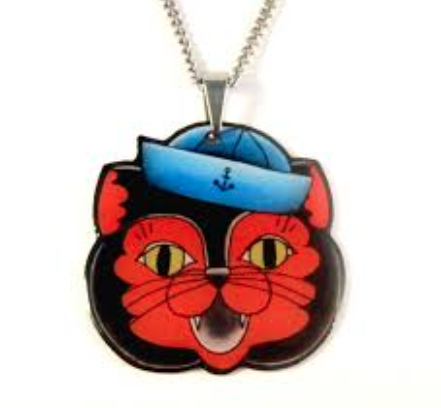 Sailor Cat Pendant