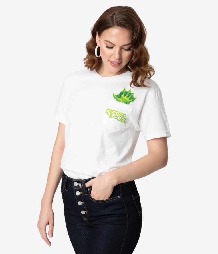 Universal Monsters x Unique Vintage Creature From The Black Lagoon Unisex Tee - Natasha Marie Clothing