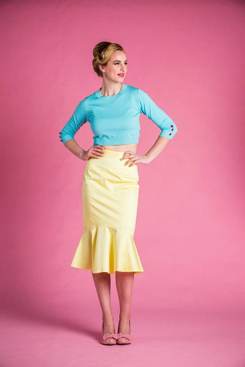 PRE ORDER Sylvia Skirt in Yellow