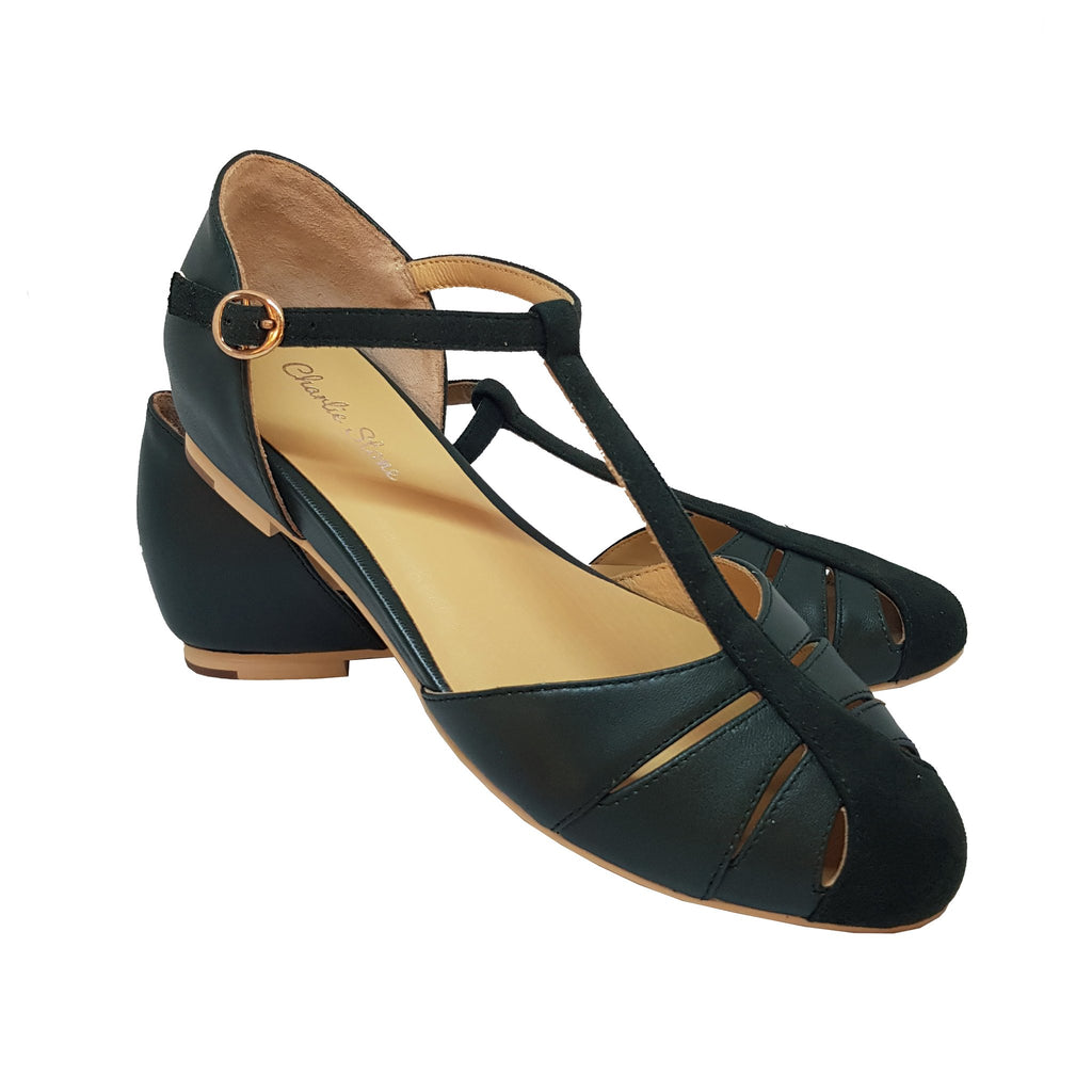 Charlie Stone Toscana Shoes - Green
