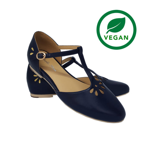 Charlie Stone Verona Shoes - Navy