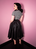 Bad Girl Vegan Circle Skirt - Natasha Marie Clothing