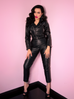 PRE ORDER Bad Girl Vegan Cropped Motorcycle Jacket (XS, 2XL & 4XL ONLY)