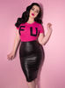 PRE ORDER Bad Girl Vegan Pencil Skirt (4XL IN STOCK)