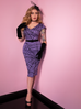 PRE ORDER Widow Spider Web Dress in Periwinkle - Natasha Marie Clothing