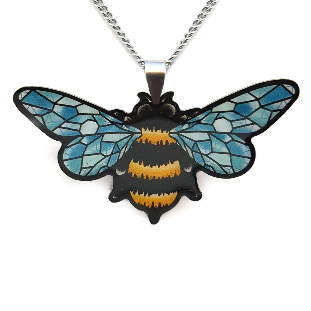 Crystal Queen Bee Pendant