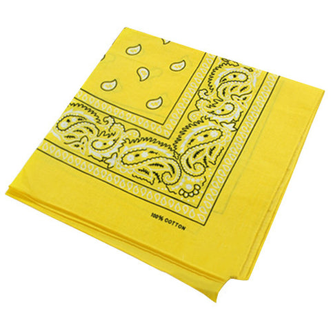 Bright Yellow Bandana
