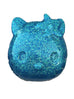 Hello Kitty Paperweight in Blue w/ White Glitter - Natasha Marie Clothing