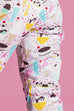 PRE ORDER Rita Pedal Pushers in Ice Cream Party Print