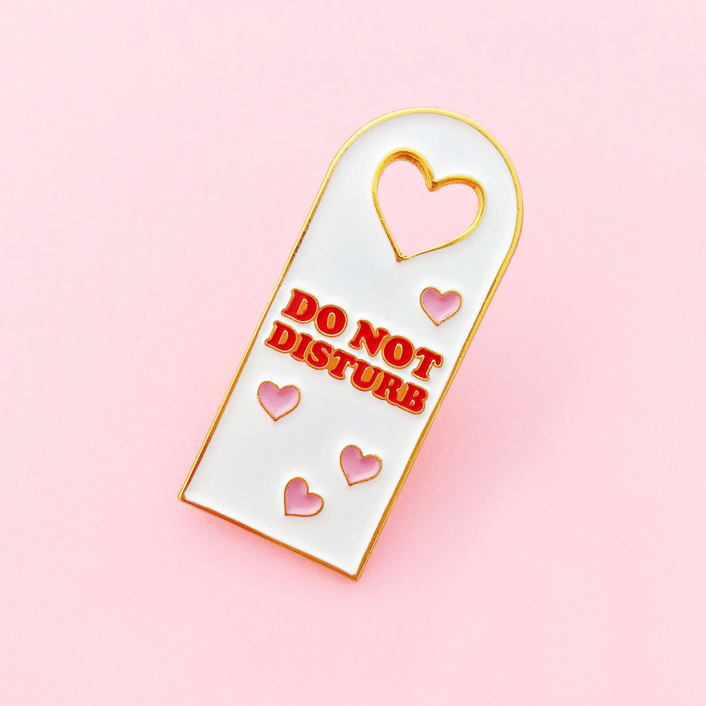 Door Hanger Lapel Pin