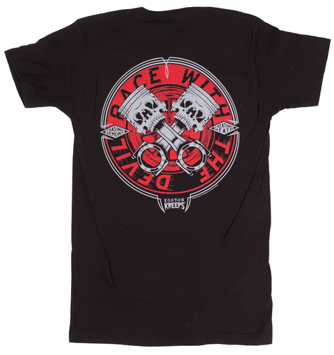 Kustom Kreeps Cheating Death T-Shirt