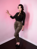 Cigarette Pants in Leopard Print (XS, 2XL, and 3XL only) - Natasha Marie Clothing