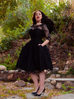 Mourning Dress in Black Lace (XS, S, XL and 3XL ONLY)