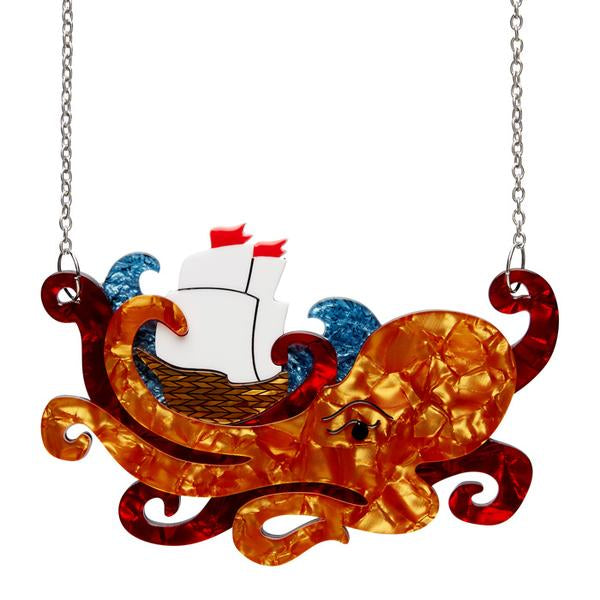 What's Kraken Necklace - Natasha Marie Clothing