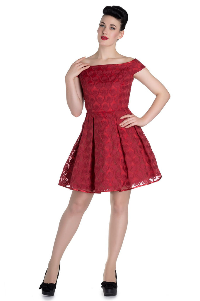 Paris Dress in Red (S and L ONLY)